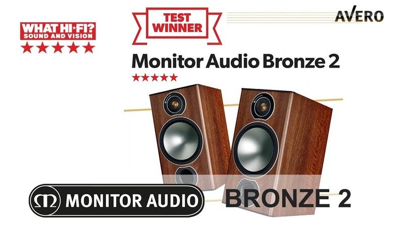 Лучшая полочная акустика от 200 до 350 фунтов ✓ Monitor Audio Bronze 2