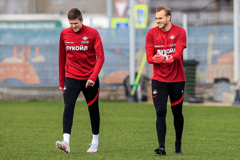 Александр Соболев и Александр Максименко