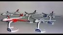 Распаковка киндер-сюрпризов из серии Самолеты / Airbus