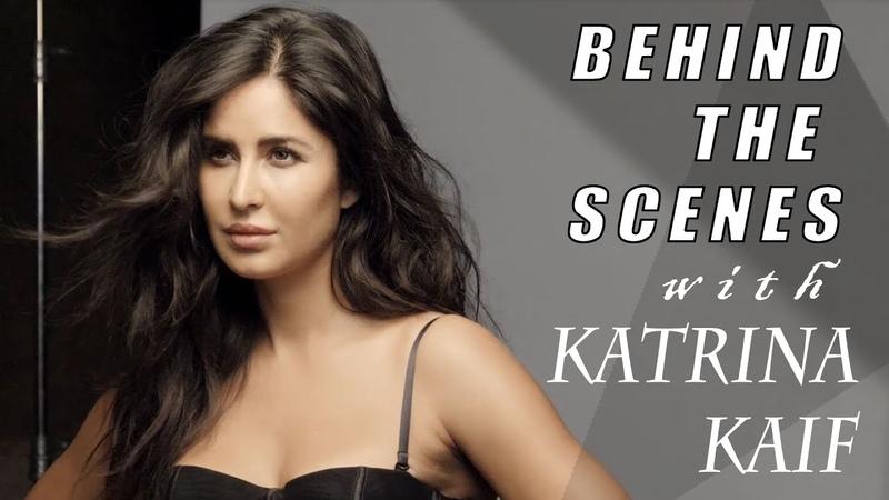 Behind the scenes with Katrina Kaif Katrina Kaif Photoshoot Filmfare Cover shoot