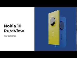 Nokia PureView 10  — Lumia 1020 style design concept