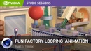 Creating a Fun Factory Looping Animation w/ Perry Cooper Part 1 Truck