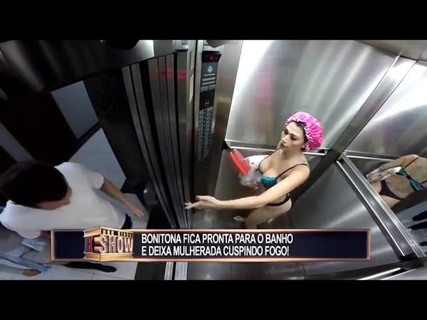 Секс в Лифте Пранк