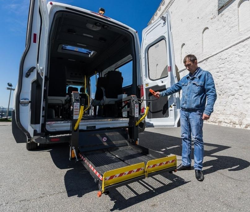 Специализированная служба такси «UNIT» для людей с инвалидностью, изображение №6