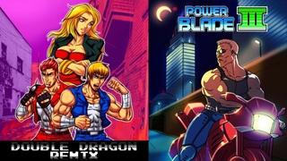 Double Dragon 1 Remix & Power Blade 3 Demo (+ BONUS) - 2nd-Stream 2