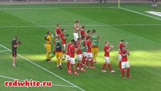 Спартак - Уфа 0:0. Болельщики московского Спартака на Открытие Арена
