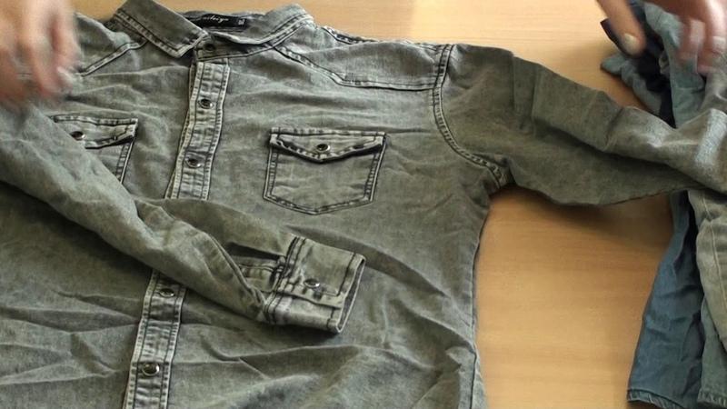 СР36 16 Рубашки джинсовые
