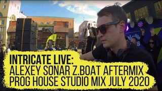 Intricate Live • Alexey Sonar  July 2020 Aftermix (Progressive/Tech House Studio Dj Mix)