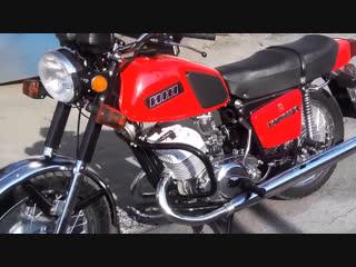 Мотоцикл ИЖ Юпитер-5 после полной реставрации