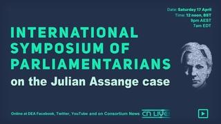 International Symposium of Parliamentarians in the Julian Assange Case