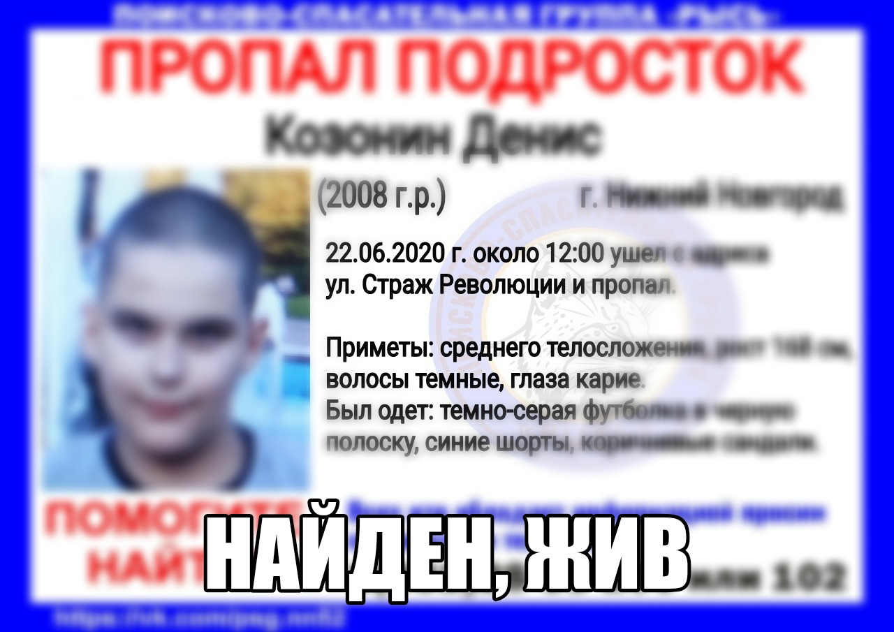 Козонин Денис, 2008 г. р., г. Нижний Новгород