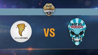 Brain Storm vs Not So Serious - day 1 week 6 Season II Gold Series WGL RU 2016/17