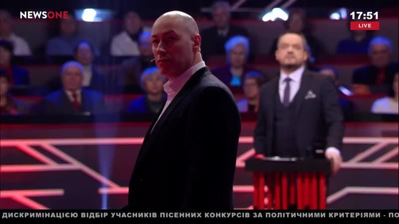 Дмитрий Гордон Гордон Я сделаю все чтобы подонки угрожающие мне убийством за мою точку зрения были наказаны