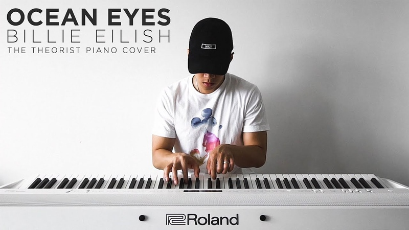Billie Eilish Ocean Eyes The Theorist Piano Cover