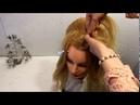 Вечерняя прическа пучок Свадебная прическа на средние волосы гофре и косы