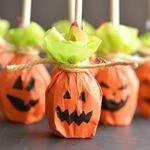 Тыквочки из «Чупа-чупсов» — упаковка конфет на Хэллоуин (МК)
