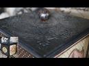 Decoupage Tutorial Forged Metal On Box - Εφέ Σφυρήλατου σε Κουτί - Diy Step by Step