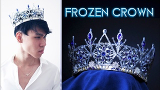 Ice Crown |Diamond Crown made from cheap soda cans?! | DIY Art Tutorial