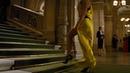 Ilsa Faust (Rebecca Ferguson) Yellow Dress Entrance into the theatre
