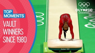 Last 10 Women's Vault Winners at the Olympics | Top Moments