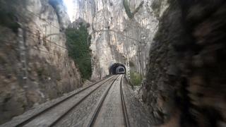 Rail View Music TR Tren de Miranda de Ebro a Burgos   2013