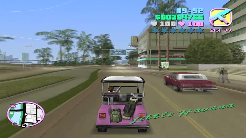 GTA Vice City Wanted List 21 Caddy