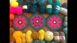 FIESTA CAL part 4 - Mosaic Crochet Tutorial