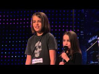 "6-Year-Old Aaralyn Scream Her Original Song, ""Zombie Skin"" - America's Got Talent"