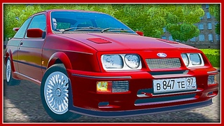 Мод Ford Sierra RS500 Cosworth City Car Driving