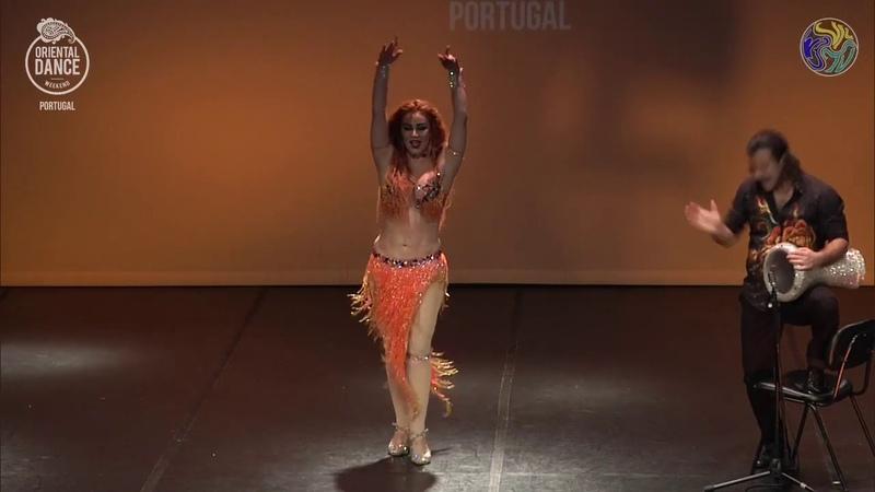 Oxana Bazaeva Artem Uzunov - Oriental Dance Weekend 2019
