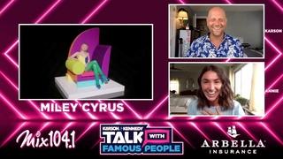 Miley Cyrus Talks #MidnightSky, Creating In 2020, 2013 VMAs, Activism, Dolly Parton, & So Much More!