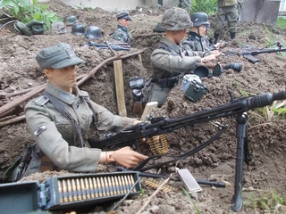 The Trench - WW2 1/6 Scale Stop Motion