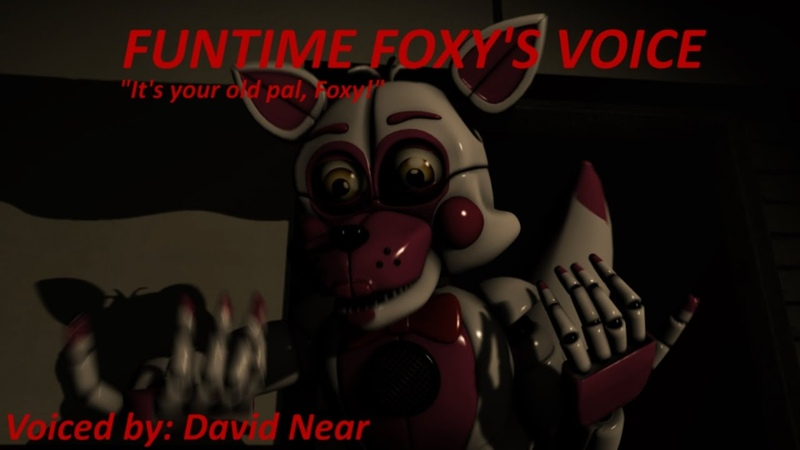 (SFM) Funtime Foxy's Voice Animated (David Near)