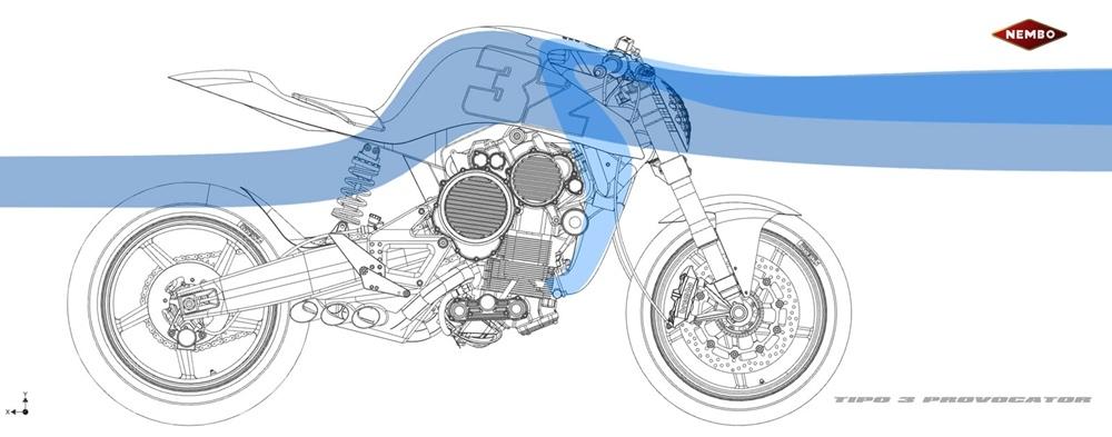 Мотоцикл Nembo 32 Type 3