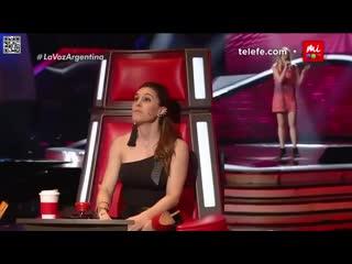 """Шоу """"Голос"""" Аргентина - Изабель с песней """"Я хочу вернуть тебя"""". — """"The Voice"""" Argentina 2018 - Isabel Aladro """"I Want You Back"""""""