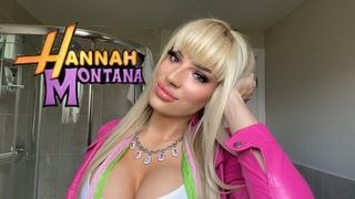 Hannah Montana makeup tutorial