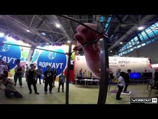 Воркаут24 фест. 6-й форум Московской молодежи 2013.