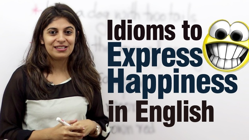 Idioms to express happiness in English Free Advance English lesson