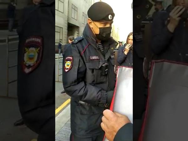 Пеньки символ выборов в РФ Полиция мешает депутату говорить правду