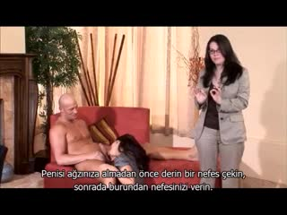 Blowjob Education (Sakso with Turkish substitle)