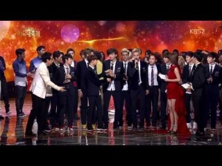 [720p] 131227 EXO with Song of Year  & Ending @ 2013 KBS Gayo Daejun