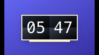 Create a Flip Clock with Tailwind CSS