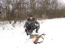 Новогодняя охота на зайца старый охотник покажет где его искать