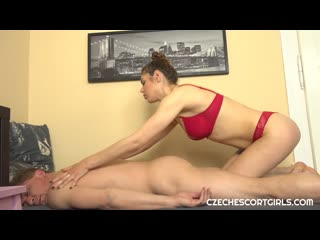 CzechEscortGirls - Jessica Bell - Red lingerie escort girl takes care of stuff Русское порно,Минет,Чешское,на камеру,2020